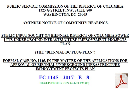 FC1145 Amended Public Notice