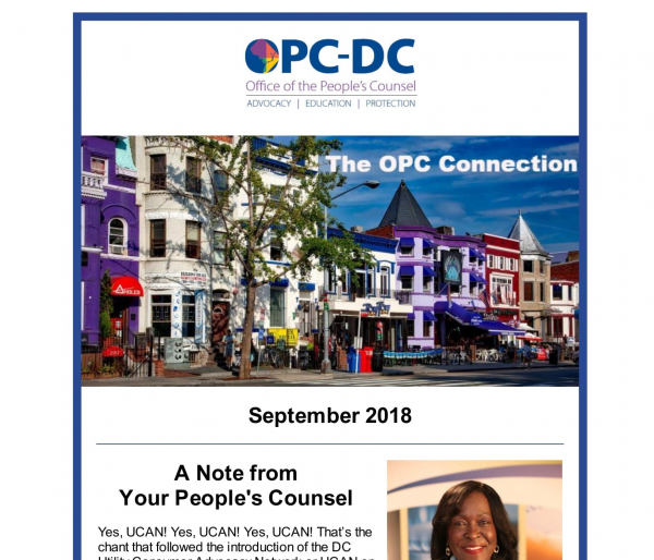 The OPC CONNECTION - September 2018