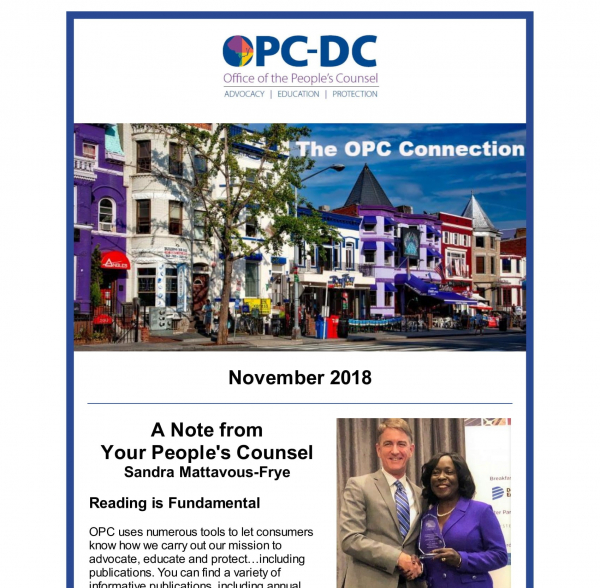 The OPC Connection - November 2018