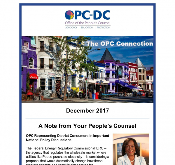 The OPC CONNECTION - December 2017