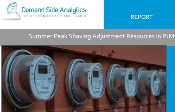Summer Peak Shaving Adjustment Resources in PJM