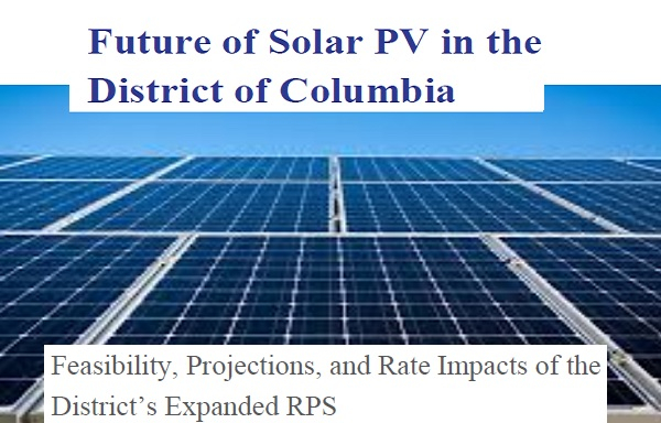 Future of Solar PV in the District of Columbia